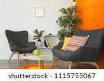 interior of modern living room... | Shutterstock . vector #1115755067