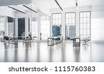 modern empty elegant office... | Shutterstock . vector #1115760383