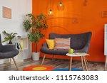 interior of modern living room... | Shutterstock . vector #1115763083