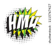 abbreviation hmu  hit me up  in ... | Shutterstock .eps vector #1115767427