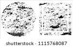 grunge texture set | Shutterstock .eps vector #1115768087