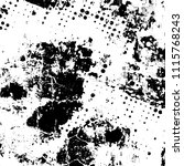 grunge is black and white.... | Shutterstock .eps vector #1115768243
