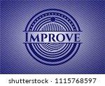 improve with jean texture | Shutterstock .eps vector #1115768597