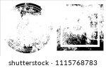 grunge texture set | Shutterstock .eps vector #1115768783