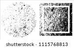 grunge texture set | Shutterstock .eps vector #1115768813