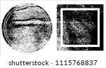 grunge texture set | Shutterstock .eps vector #1115768837