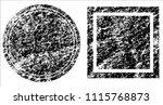 grunge texture set | Shutterstock .eps vector #1115768873