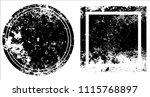 grunge texture set | Shutterstock .eps vector #1115768897