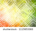 abstract geometric grunge... | Shutterstock . vector #1115853383