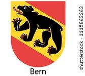 bern or berne city of... | Shutterstock .eps vector #1115862263