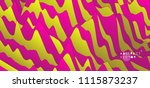 pattern with optical illusion.... | Shutterstock .eps vector #1115873237