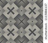 seamless aztec pattern.... | Shutterstock .eps vector #1115886137