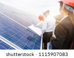 a developer and engineer... | Shutterstock . vector #1115907083