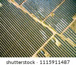 aerial photography new energy... | Shutterstock . vector #1115911487