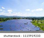 aerial power station | Shutterstock . vector #1115919233