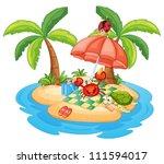 illustration of a various... | Shutterstock .eps vector #111594017