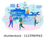 concept programmer  coding ...   Shutterstock .eps vector #1115984963
