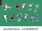 european football  soccer... | Shutterstock .eps vector #1116006437