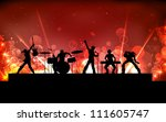illustration of youth... | Shutterstock .eps vector #111605747