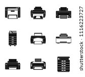 office technical specialist...   Shutterstock .eps vector #1116223727