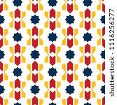 color islamic ornament pattern. ... | Shutterstock .eps vector #1116256277