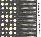 seamless wave pattern. fine... | Shutterstock .eps vector #1116267593