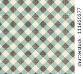 seamless textile quilt pattern | Shutterstock .eps vector #111630377