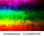 dark multicolor  rainbow vector ...   Shutterstock .eps vector #1116309143