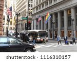 chicago  usa   june 06  2018 ... | Shutterstock . vector #1116310157