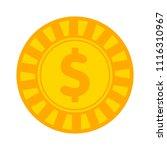 vector casino chips  casino... | Shutterstock .eps vector #1116310967