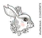 sketch graphic illustration... | Shutterstock .eps vector #1116335873