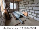 working process of installing... | Shutterstock . vector #1116348503