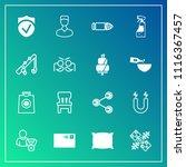 modern  simple vector icon set... | Shutterstock .eps vector #1116367457