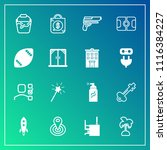 modern  simple vector icon set... | Shutterstock .eps vector #1116384227