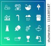 modern  simple vector icon set... | Shutterstock .eps vector #1116385187