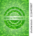 make a difference realistic... | Shutterstock .eps vector #1116405887