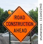Small photo of this is a road construction ahead sign
