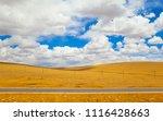 qinghai tibet plateau scenery... | Shutterstock . vector #1116428663