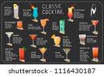 set of vector illustration of...   Shutterstock .eps vector #1116430187
