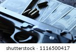 crime and violence concept.... | Shutterstock . vector #1116500417
