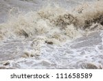 deluge - stock photo