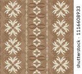 seamless damask pattern.... | Shutterstock .eps vector #1116608933