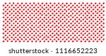 white and red polka dot jersey... | Shutterstock .eps vector #1116652223
