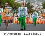 funchal  madeira  portugal  ... | Shutterstock . vector #1116656573