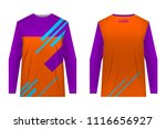 templates jersey for... | Shutterstock .eps vector #1116656927