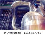 equipment  cables and piping as ... | Shutterstock . vector #1116787763