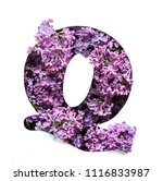 the letter q of the english... | Shutterstock . vector #1116833987