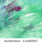 colourful water color pouring... | Shutterstock . vector #111683567