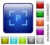 camera program mode icons in... | Shutterstock .eps vector #1116848027