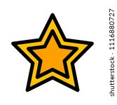 full single star | Shutterstock .eps vector #1116880727